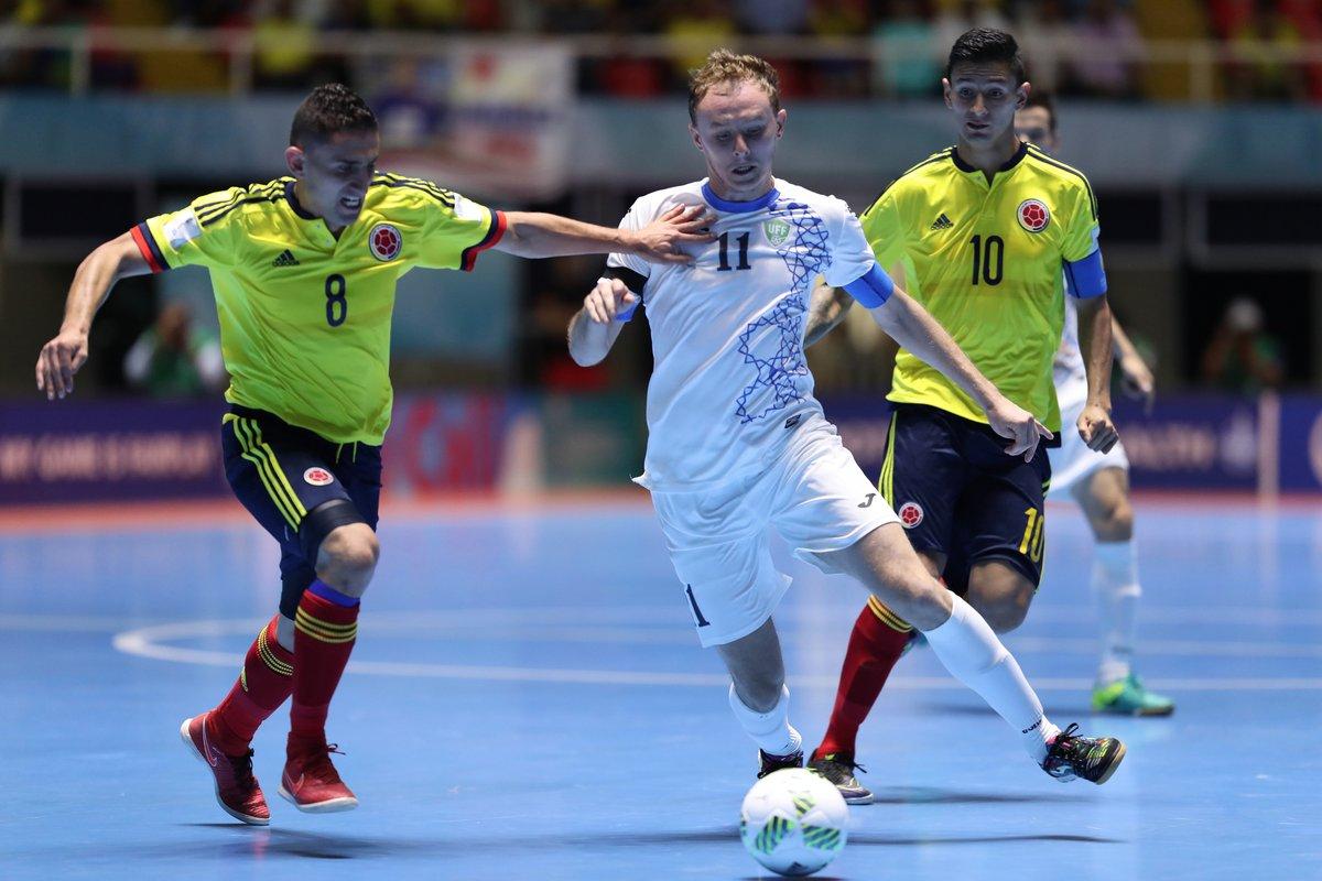 Colombia empata con Uzbekistán y rescata un punto en Mundial de Fútsal