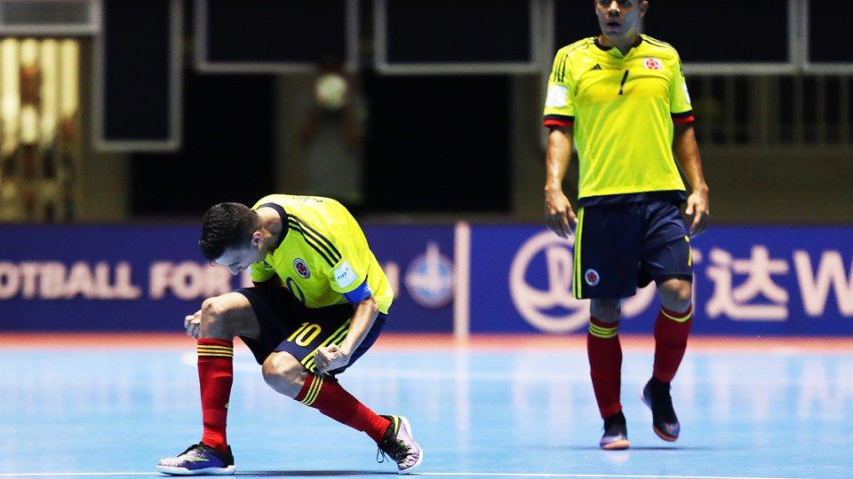 Colombia supera a Panamá 4-3 y pasa a octavos en Mundial de Fútsal