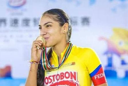 Vallecaucana ganó otro oro para Colombia en Mundial de patinaje en China