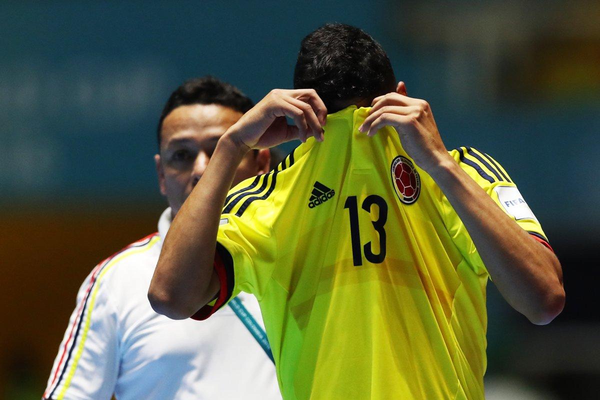 Colombia le dijo adiós al Mundial de Fútsal al perder frente a Paraguay