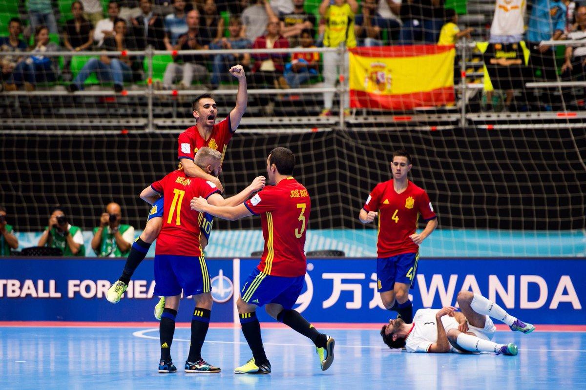 España vence a Irán y muestra credenciales en Mundial de Fútsal
