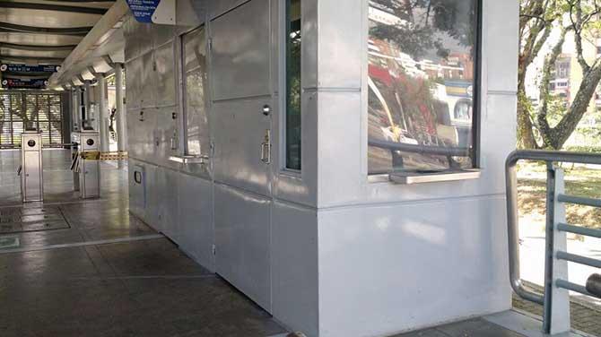 Estación Univalle está habilitada nuevamente a los usuarios del Mío