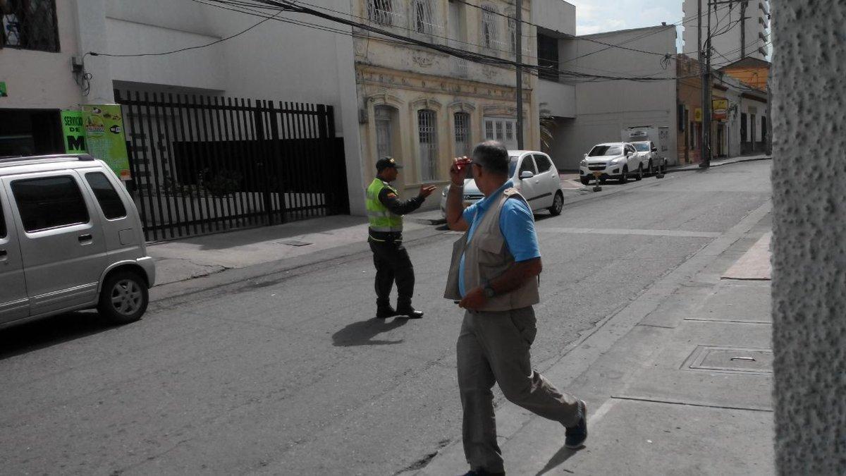 Falsa alarma por posible bomba en Fiscalía de Palmira provocó pánico