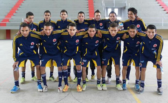Selección Colombia de fútsal irá por la clasificación a cuartos de final