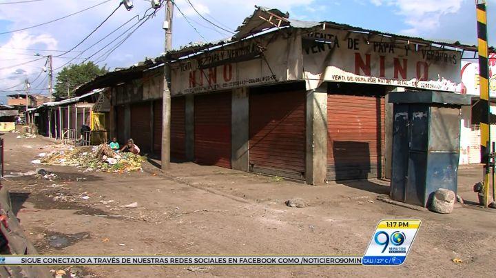 Diagnóstico a la extorsión a comerciantes en la galería Santa Elena de Cali