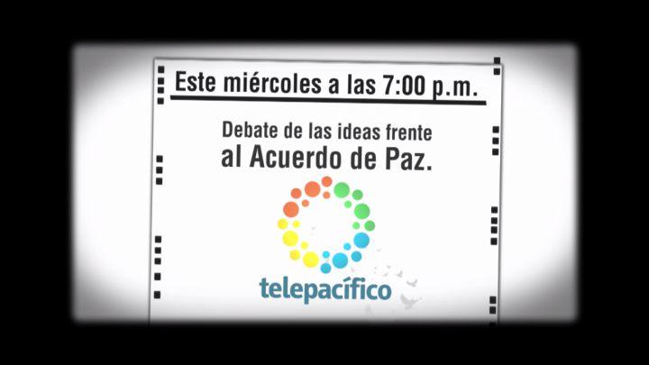 Votar Sí O Votar NO, gran debate esta noche por Telepacífico
