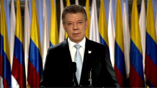 Santos: Plebiscito será elección más importante para Colombia