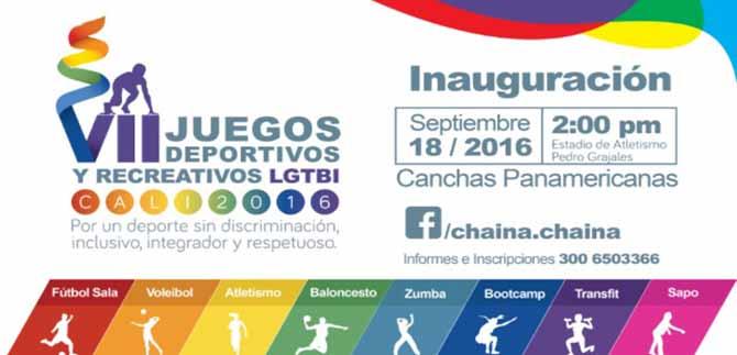 Hoy se realizará inauguración de los VII Juegos Deportivos Lgbti