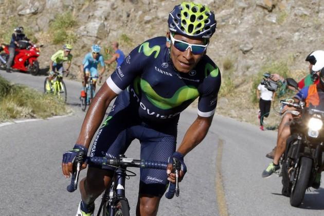 Nairo Quintana se mantiene en el liderato en la vuelta a España