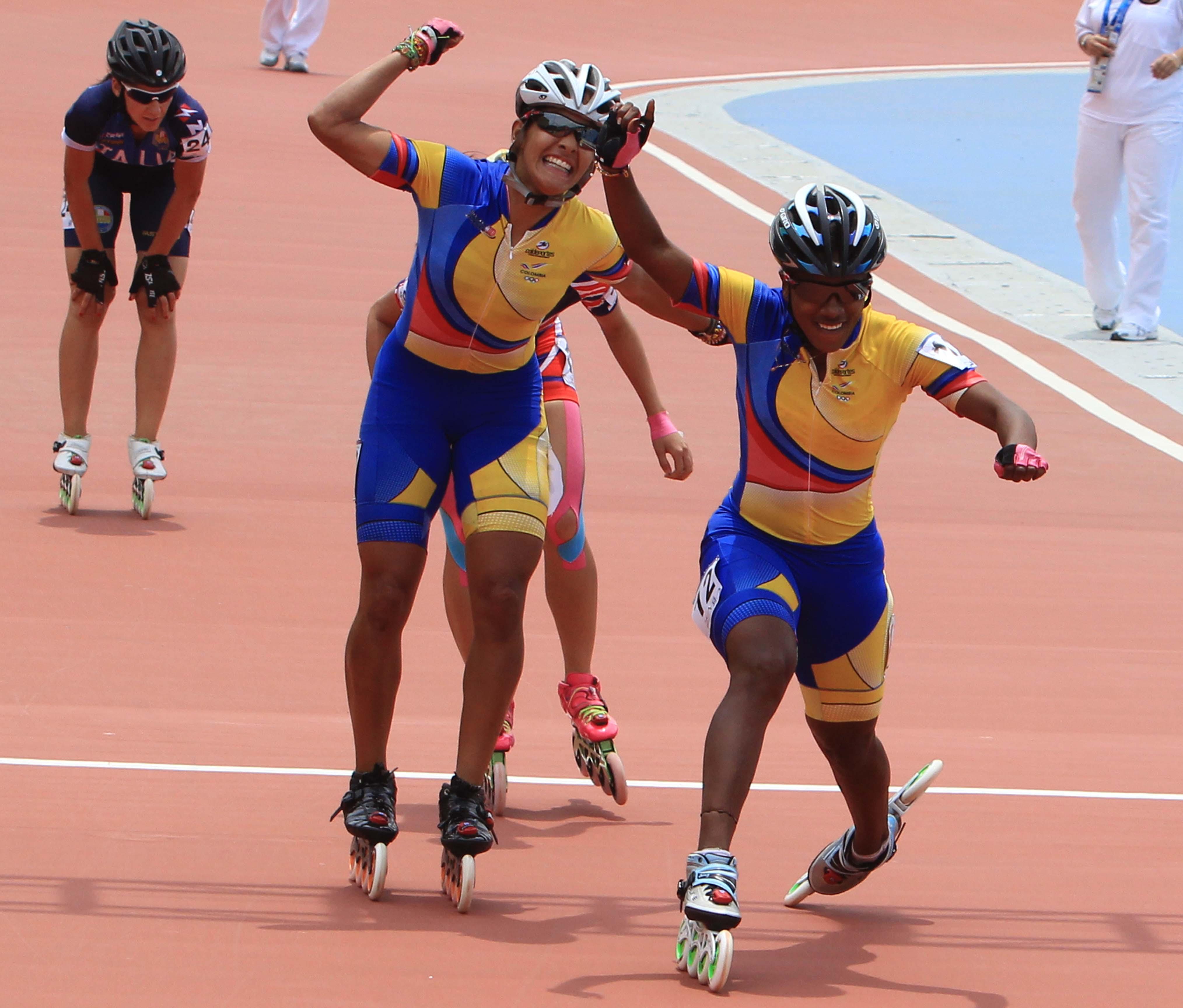 Vallecaucana ganó oro en los 500 metros del Mundial de Patinaje en China