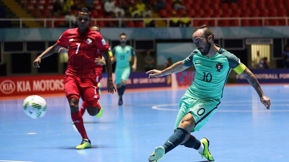 Portugal aplastó 9-0 a Panamá en Mundial de Fútsal y lidera grupo A