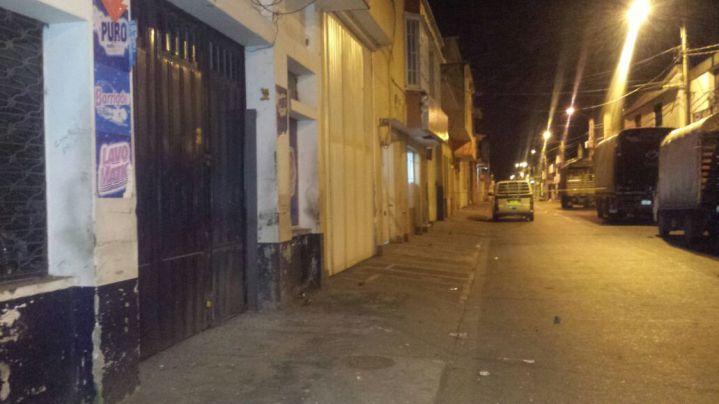 Extorsionistas serían responsables de atentado en Cartago