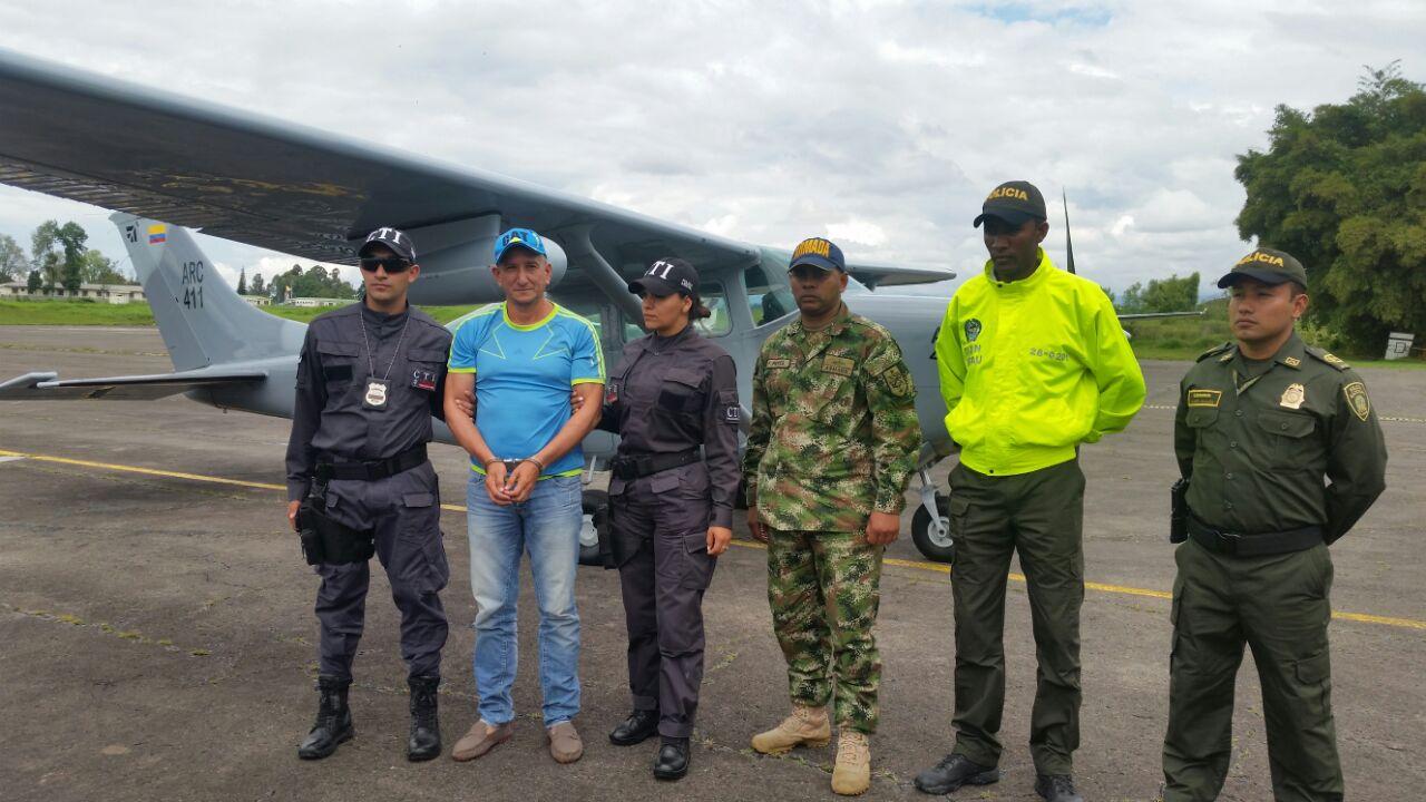 Fiscalía capturó al 'pez gordo' de minería ilegal en el sur del país