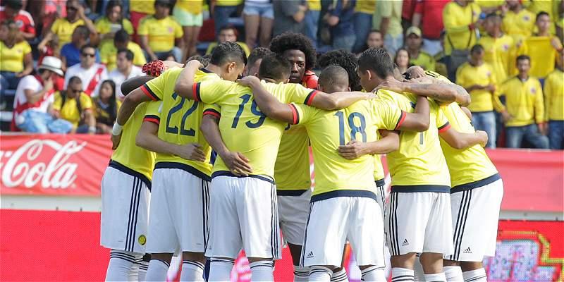 Colombia y Uruguay empataron 2-2 en Barranquilla