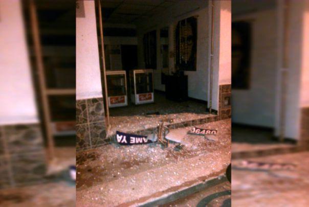 Investigan explosión cerca a la estación de policía de Sevilla