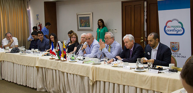 Delegados franceses acompañaran tres megaproyectos de Cali