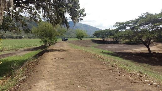 Inspeccionan el dique del corregimiento La Herradura tras realización de obras