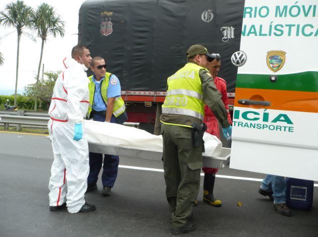 Dos muertos dejó accidente de tránsito en calzada Buga-Tuluá