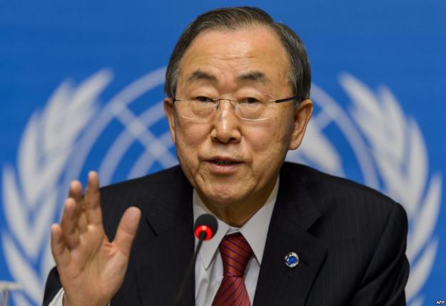 """""""El Nobel es una señal para no dar marcha atrás"""": Ban Ki-Moon"""