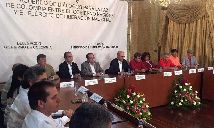 ELN dio a conocer delegados para el proceso de paz en Quito