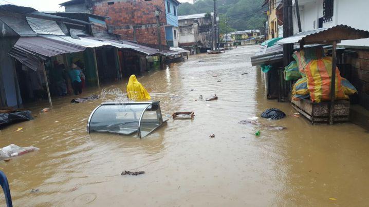[En Imágenes] Emergencias en Chocó, municipios inundados por fuertes lluvias