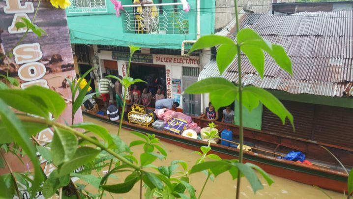 Lluvias provocan inundaciones en 17 municipios del Pacífico