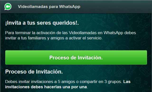 ¡Ojo! Falso anuncio para descargar las videollamadas en WhatsApp