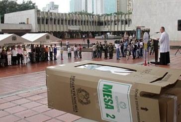 Con una homilía se dio apertura a la jornada electoral en Cali