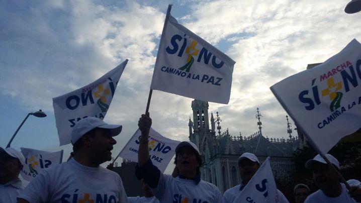 Marcha por la paz inició esta mañana y va hacia Bogotá