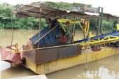 Seis personas judicializadas por minería ilegal en el río Cauca