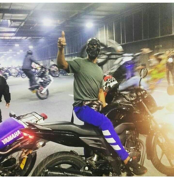 Motociclistas disfrazados causaron caos en vías de Cali