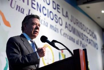 Santos no ha firmado decreto de negociadores porque ELN no libera a Odín Sánchez