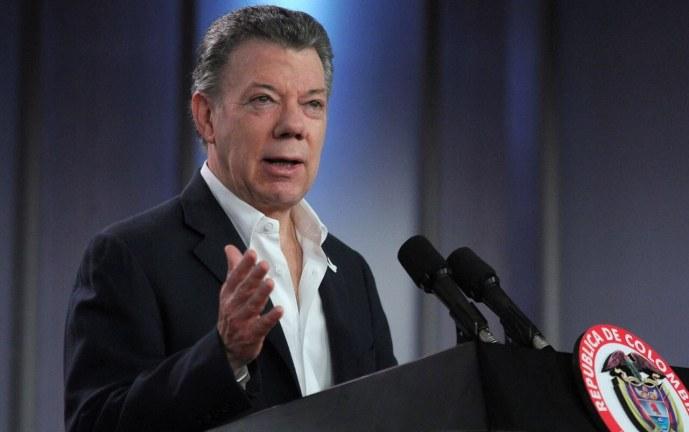 """Santos insiste: """"Hasta que yo no vea a Odín Sánchez libre no habrá negociación con el ELN"""""""