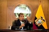 """Rafael Correa espera que diálogos con ELN sean """"cortos y contundentes"""""""