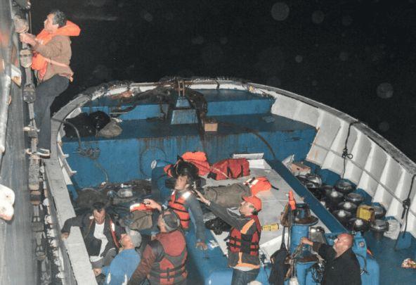 37 personas fueron rescatadas en aguas del Pacífico colombiano