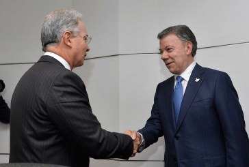 Avanza reunión entre presidente Juan Manuel Santos y Álvaro Uribe Vélez