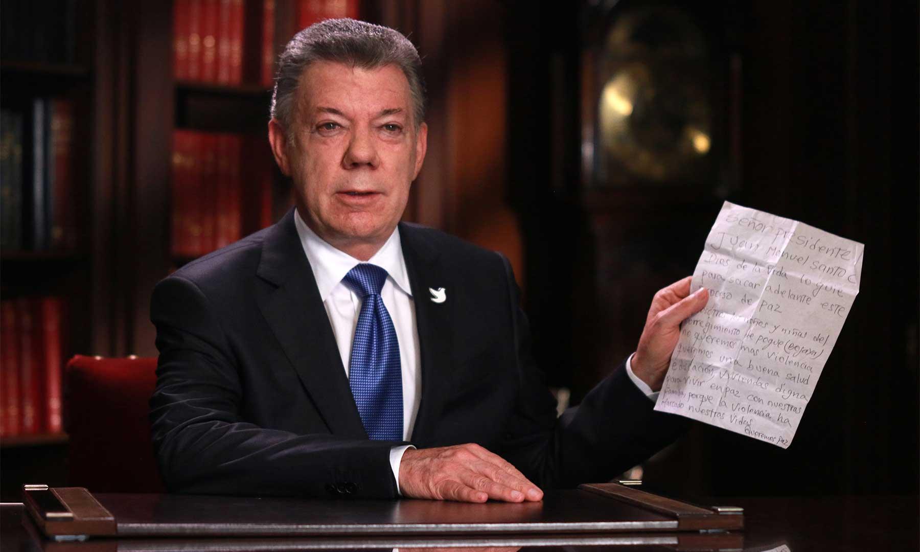 """El presidente Santos pidió a los opositores que no hagan """"propuestas imposibles"""""""