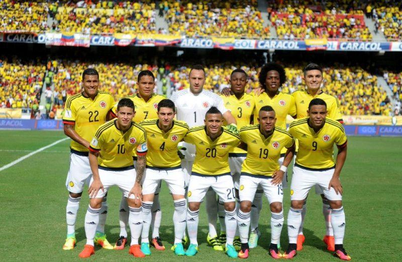 Selección Colombia bajó al quinto lugar del escalafón mundial de la Fifa