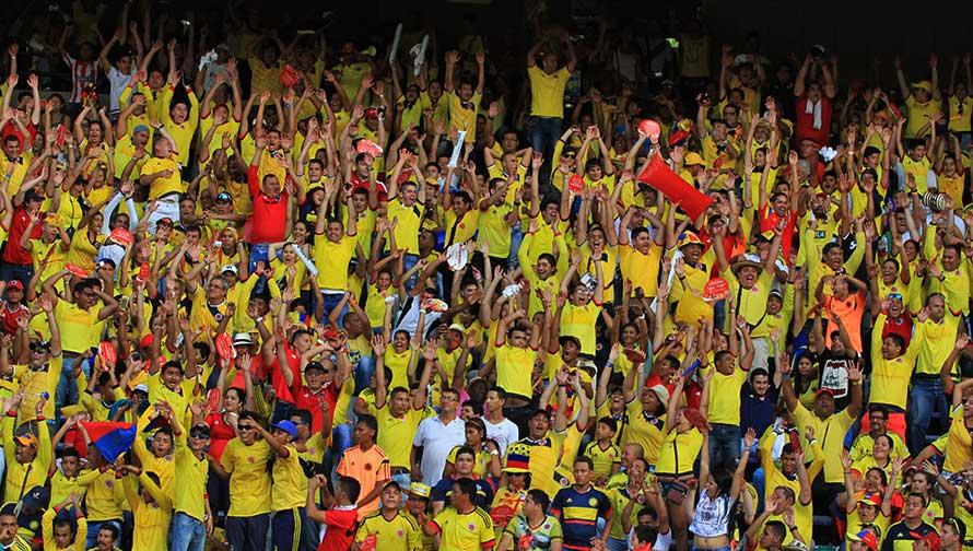 Selección Colombia llega a Barranquilla con James Rodríguez