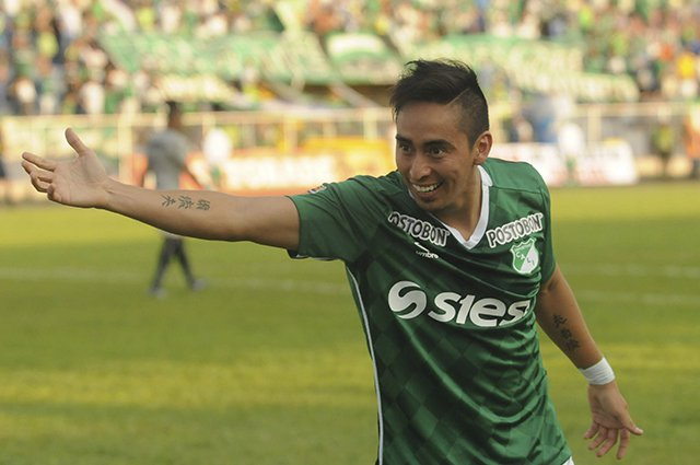 Tras dos meses de lesión regresa al Deportivo Cali Fabián Sambueza