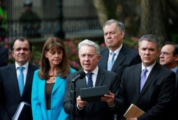 """""""El Presidente Santos expresó voluntad para modificar los acuerdos"""": Uribe"""