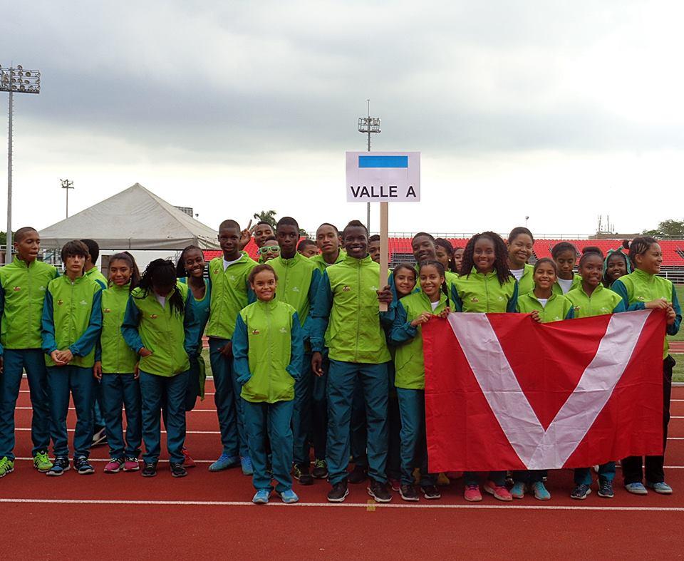 Delegación del Valle fue la mejor del Campeonato Nacional de Atletismo