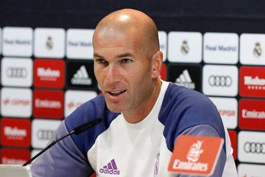"""Contundente Zidane al ser preguntado por James: """"no quiero hablar más de estas cosas"""""""