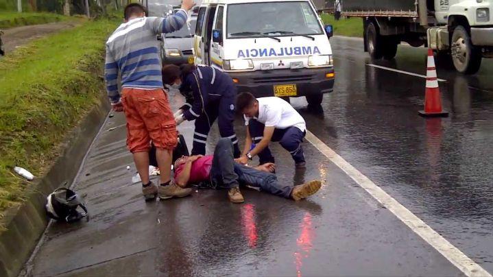 Valle, departamento con el mayor número de accidentes de motos