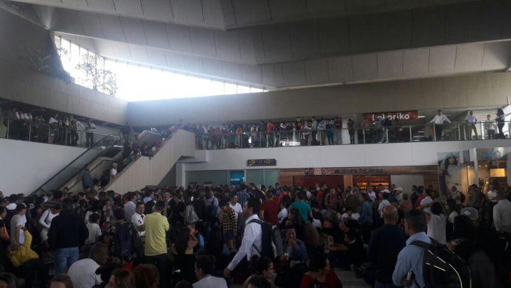 Empieza normalización de vuelos en el aeropuerto Alfonso Bonilla Aragón