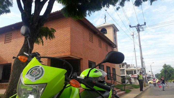Ataque sicarial deja un muerto en iglesia del suroriente de Cali