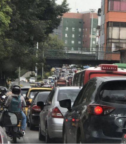 Por problemas viales, llueven críticas a Secretaría de Tránsito