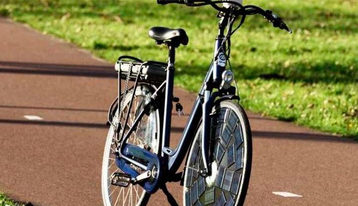 Bicicletas solares, un modelo pionero en Latinoamérica