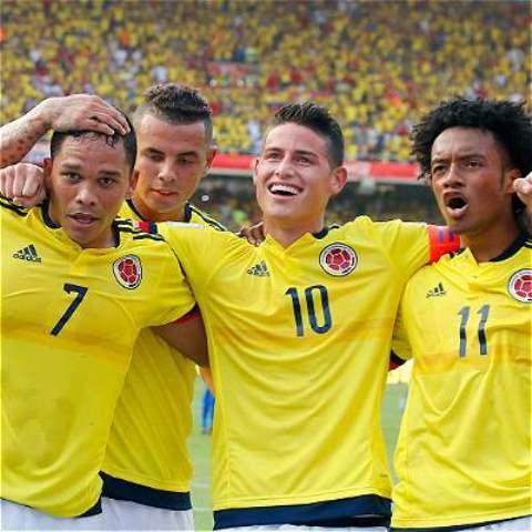 Colombia se alista para enfrentar a Chile en el duelo por Eliminatorias