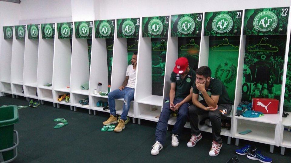 Consternación entre los ocho jugadores de Chapecoense que quedaron en Brasil